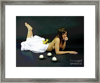 Restful Bliss-1 Framed Print