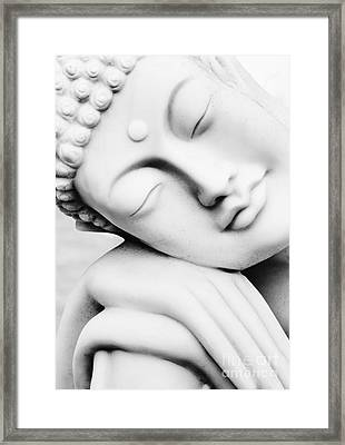 Restful Buddha Framed Print