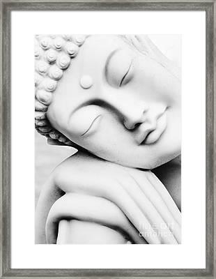 Restful Buddha Framed Print by Tim Gainey