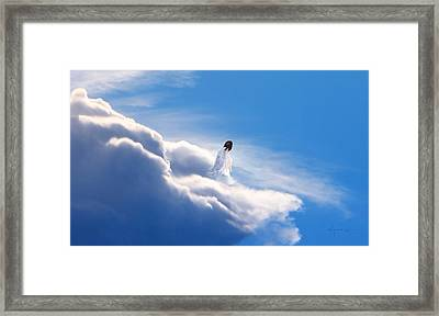 Resting Angel 2 Framed Print