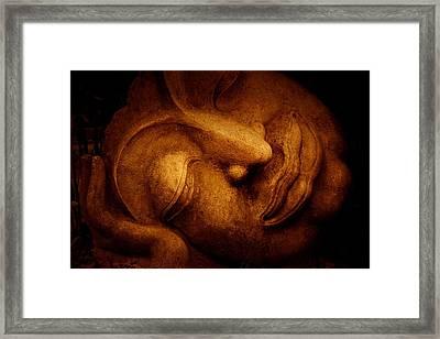 Sleeping Buddha 3 Framed Print