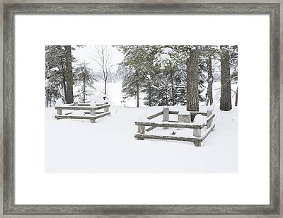 Resting In Peace Framed Print by Tim Grams