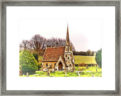 Framed Print featuring the photograph Resting Place 01 by Paul Gulliver