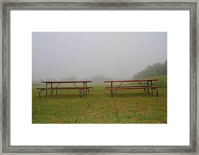 Resting Spot Framed Print by Dan Sproul