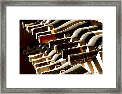 Resting Wine Framed Print by Cole Black