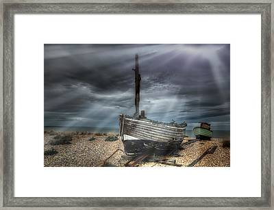 Resting With Rays One Framed Print by Jason Green