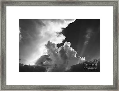 Restless Atmosphere Framed Print