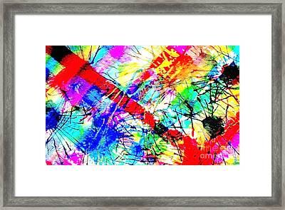 Restless Hearts Framed Print