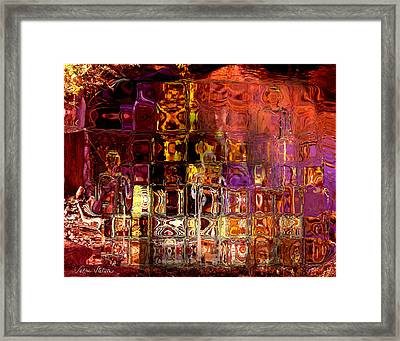 Restless Mind Framed Print by Sabine Stetson