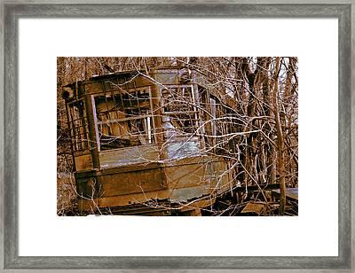 Restoration Project Framed Print by Mike Flynn
