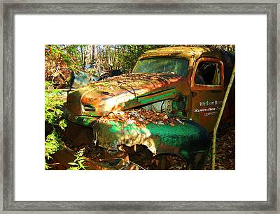 Restoration Service Framed Print by Ron Haist