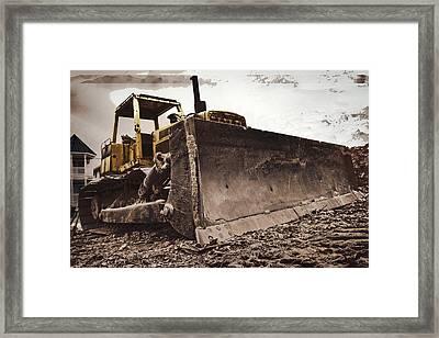 Restore The Shore Framed Print