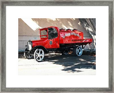 Restored 1922 Mack Truck Framed Print
