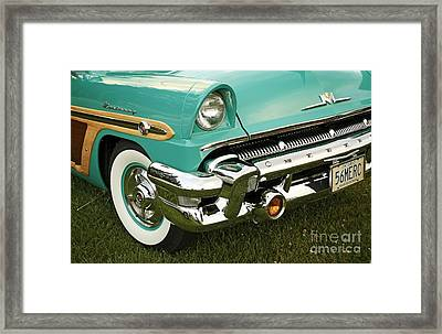 Restored 1956 Mercury  Framed Print
