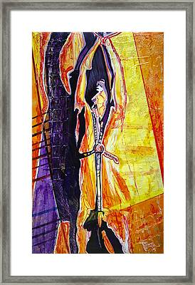 Restrained Framed Print by Ron Richard Baviello