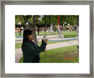 Resurrected Love Reclamation Framed Print by Kenneth James