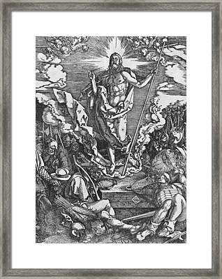 Resurrection Framed Print