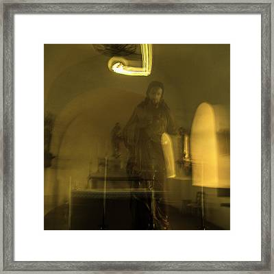 Resurrection Appearances Of Jesus Framed Print by Alexandre Russevitch