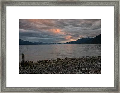 Resurrection Bay Framed Print