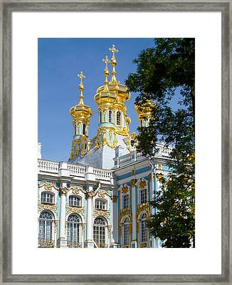 Resurrection Church Catherine Palace Framed Print