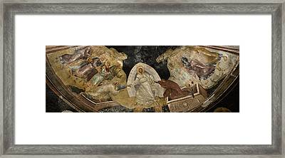 Resurrection Of Adam And Eve Panorama Framed Print by Stephen Stookey