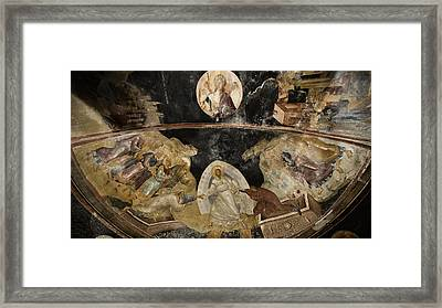 Resurrection Of Adam And Eve Framed Print