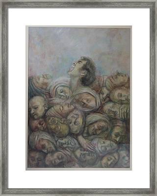 Resurrection Framed Print by Paez  Antonio