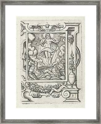 Resurrection, Virgilius Solis Framed Print