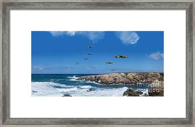 Retalliation Framed Print by J Biggadike