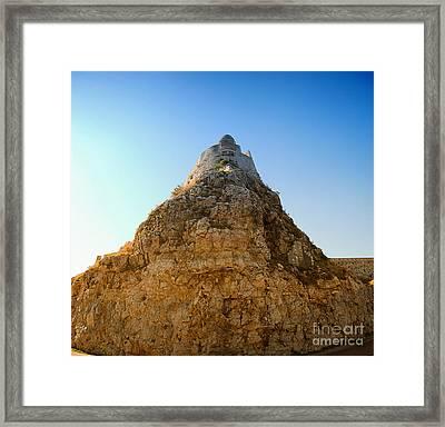 Rethymnon Fort Framed Print by Antony McAulay