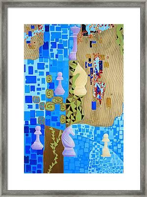 Reti-rubinstein Framed Print by Nicolas Sphicas