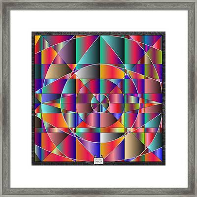 Reticulae Framed Print by Eloy Tamez olguin
