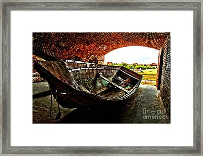 Retired Framed Print by Adam Jewell