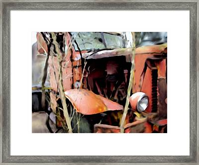 Retired And Forgotten Framed Print