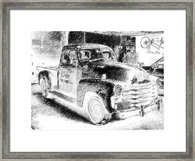 Retired Framed Print by Donna Lee Wondol