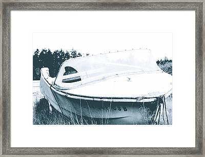 Retired From The Ocean Framed Print by Sheldon Blackwell