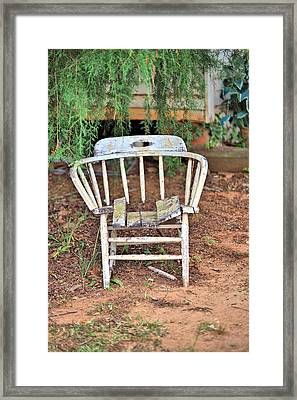 Framed Print featuring the photograph Retired by Gordon Elwell