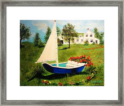 Retired In Cape Cod Framed Print