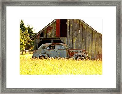 Retired Joyride Framed Print