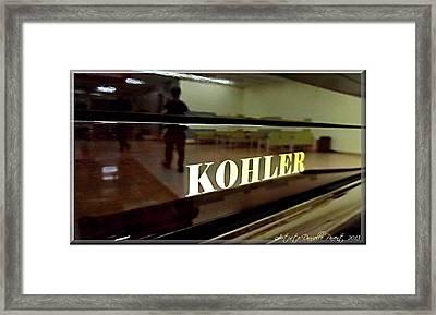 Retired Kohler Piano Framed Print by Danielle  Parent