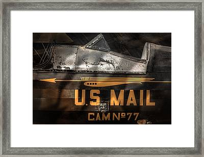 Retired Mail Carrier - Pitcairn P-6 Mailwing 1929 Framed Print by Gary Heller