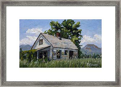 Retired Framed Print by Mary Giacomini
