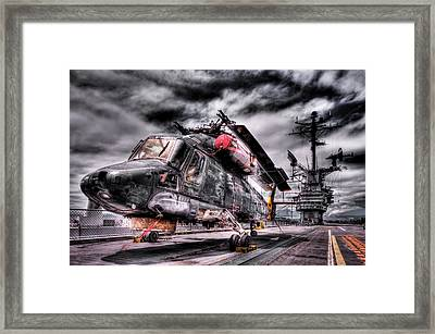 Retired Pilot Framed Print
