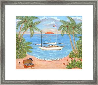 Retired Pirate Framed Print