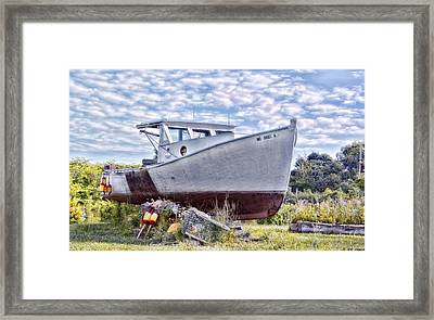 Framed Print featuring the photograph Retired by Richard Bean