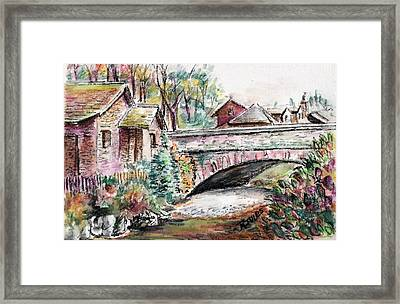 Retreat At Grassmere Framed Print