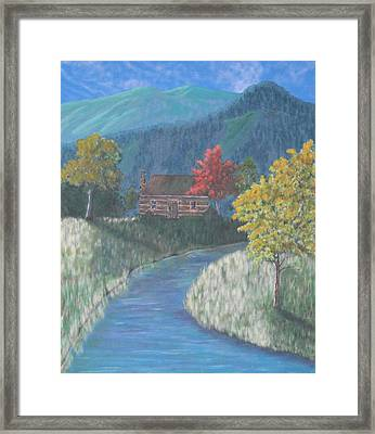 Retreat Framed Print by Candace Shockley