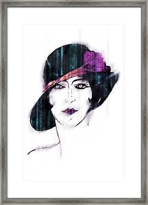 Retro 3d Framed Print by Mauro Celotti