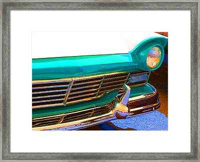 Framed Print featuring the photograph Retro Auto One by Denise Beverly