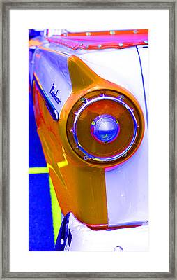 Framed Print featuring the photograph Retro Auto Three by Denise Beverly